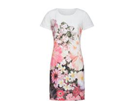 Dámské šaty White/Pink 19105
