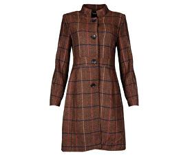 Dámsky kabát Black / Cognac 18633