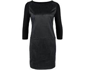 Dámské černo-šedé krátké šaty
