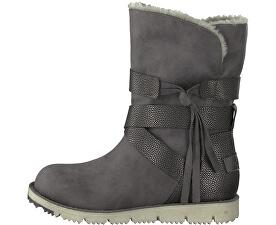 4e497e261f284 S.Oliver Dámske členkové topánky Anthracite Com 5-5-26481-21-