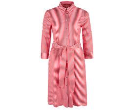 Dámské šaty 14.904.82.2007.26G5 Brick Red Stripes
