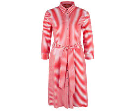 Dámske šaty 14.904.82.2007.26G5 Brick Red Stripes