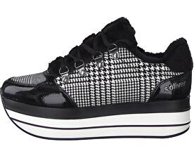 Női sportcipőBlack Checker 5-5-23603-23-035