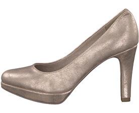 Elegantní dámské lodičky Champagner 5-5-22420-39-404