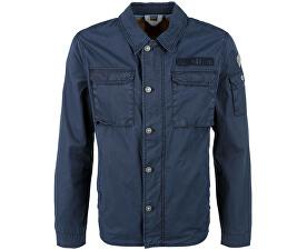 Pánská modrá bunda