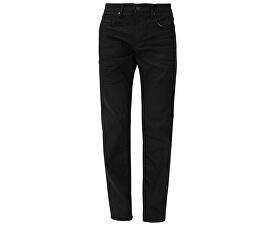 Pánské černé kalhoty Slim délka 32