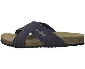 Pantofi pentru bărbați Navy 5-5-17401-32-805