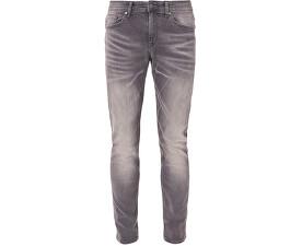 Pánske šedé nohavice Skinny dĺžka 34