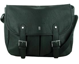 Černá taška přes rameno Penrose Poacher Bag Brown STABY74
