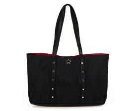 Geantăpentru doamneStar Studded Large Shopper Black