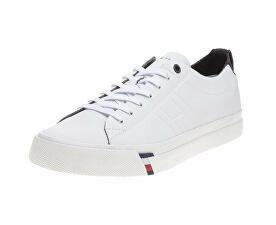 Adidași pentru bărbați Corpo rate Clean Leat White FM0FM01214-100