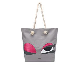 Tamaris Kabelka Carina Shopping Bag 3044191-204 Light Grey 1bcbb57914a