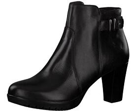 Tamaris Dámske členkové topánky 1-1-25051-21-001 Black c9437bab1c6