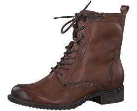 Dámske členkové topánky 1-1-25217-21-305 Cognac