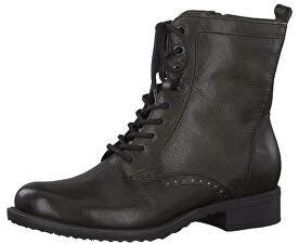 Dámske členkové topánky 1-1-25217-21-713 Dark Olive