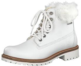 Botine pentru femei1-1-26294-21-130 White Fur