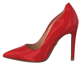 Női körömcipő1-1-22400-22-524 Red Patent