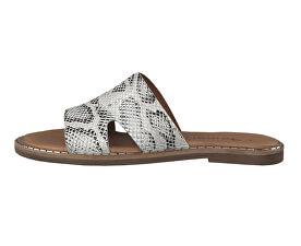 Papuci pentru femei 1-1-27153-32-911 Grey Snake