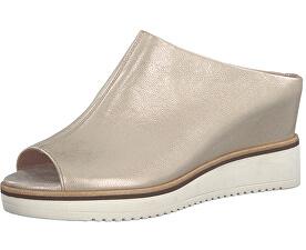 Dámské pantofle 1-1-27200-20-978 Lt. Gold Plain
