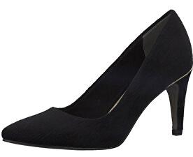 Elegantní dámská obuv 1-1-22457-29-006 Black Struct.