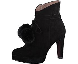 Elegantné dámske členkové topánky 1-1-25948-39-001 Black