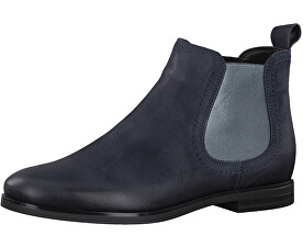 Tamaris Elegantné dámske členkové topánky 1-1-25995-39-805 Navy 19f2ce156b9