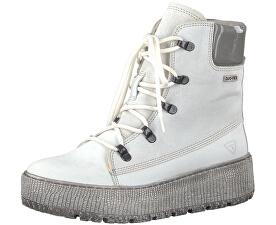 Elegant nej dámske členkové topánky 1-1-26730-39-197 White Comb