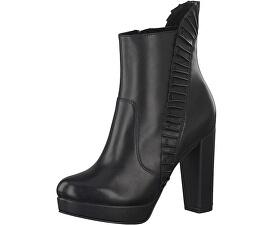 Elegantní dámské nízké kozačky 1-1-25301-29-001 Black