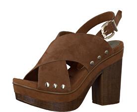 Tamaris Elegantné dámske sandále 1-1-28389-38 Cognac d52c084d0ae