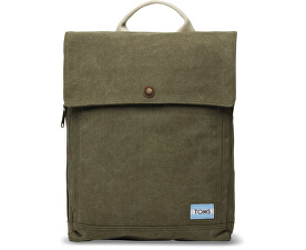 Batoh Olive Canvas Backpack
