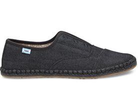 Dámske čierne topánky Black on Black Palmera Slip-on