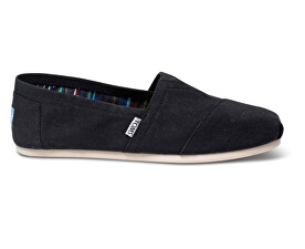Dámské Slip-On Black Canvas Core Classics Alpargata