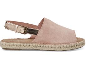 Dámské sandále Bloom Suede/Rose Gold Specchio Clara