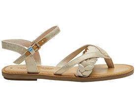 Dámske sandále Natural Shimmer Canvas Lexie