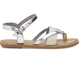 SandaleSilver Specchio/Hemp Lexie pentru femei