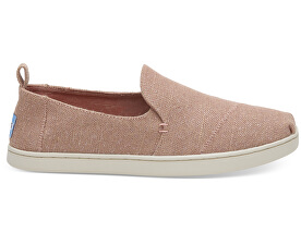 Dámské Slip-on Bloom Metallic Jute Deconstructed Alpargata