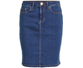 Dámska sukňa VICOMMIT FELICIA SHORT SKIRT V. MBD-Noosa Medium Blue Denim