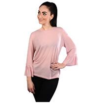 Vero Moda Dámske tričko Jakuri 3 4 Cuff Frill Top D2-2 Zephyr ... 3b9211e8c6