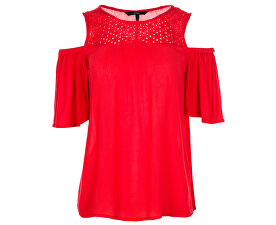 Top Bluza Mia Cold Shoulder Top Poppy Red