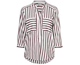 Bluză pentru femei VMERIKA STRIPE 3/4 SHIRT TOP E10 COLOR Port Royale