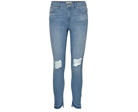 "Blugi Seven Mr S Uneven Folddown Ank J Cr030 ""32 Light Blue Denim pentru femei"