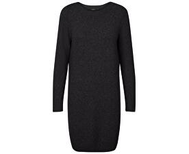 d3b9edd40 Vero Moda Dámské šaty Doffy Structure Ls Boatneck Dress Boo Black Melange