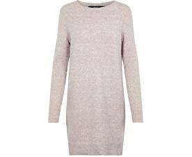 Dámske šaty VMDOFFY LS O-NECK DRESS COLOR Woodrose