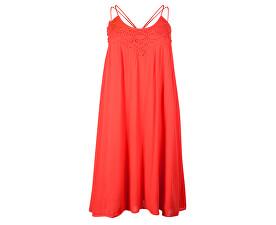Dámské šaty Vmfiona Sl Short Dress Poppy Red