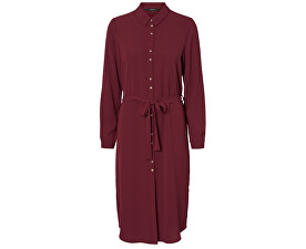 Rochie pentru femei VMSASHA SHIRT L/S DRESS COLOR Port Royale