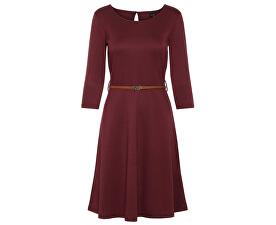Dámske šaty VMVIGGA FLAIR 3/4 SLEEVE DRESS Port Royale