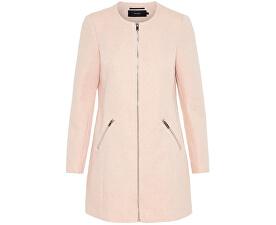 Dámsky kabát Latina Vero dona Zipper 3/4 Jacket Mocha Mousse