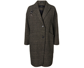 Dámský kabát North 3/4 Jacket Peat Black Check W.Two Trims
