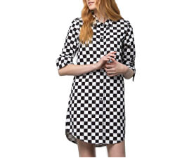 Dámske šaty Broadway II Check Dress Checkerboard VN0A47XV7051