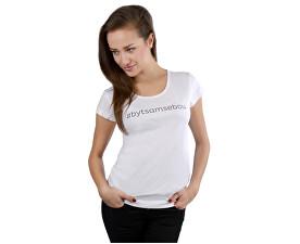 6dacd0bce83 VIVANTIS Dámské bílé triko Být sám sebou